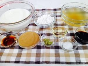 1-ゴマ豆腐材料