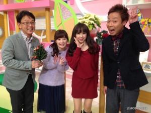 きょうは、タレントの本田理沙さんがゲストでした! 優しくてとってもキュートな理沙さんに、もうみんなメロメロ☆ 特に、中華さんは誰よりも嬉しそうでしたよ!!