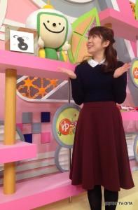 お天気 幸 綾音キャスター 衣装協力:GRAPEFRUIT MOON(大分フォーラス3階)