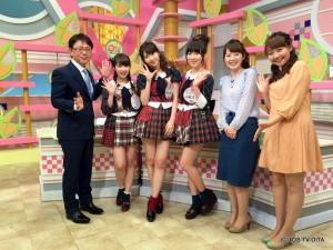 TOS45周年の広報大使であるAKB48から、小笠原茉由さん、柏木由紀さん、高橋朱里さんがスタジオに来てくれました♪ いつも以上に、明るく楽しいスタジオでしたよ!