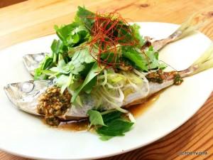 20150616アジア風蒸し魚2