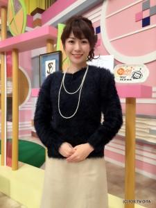 お天気 幸 綾音キャスター 衣装協力:E'CRU(大分市府内町)