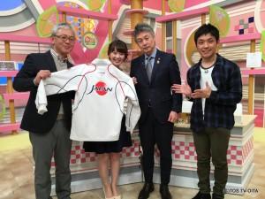 ゲストは、大分市出身でフェンシング日本代表総監督の江村宏二さんでした。 現在、大分市にてフェンシング・サーブルの日本代表メンバーが合宿中! 今月22日(火)まで大分市のコンパルホールにて練習を行っていて、見学は自由です。 ぜひ足を運んでみてください♪