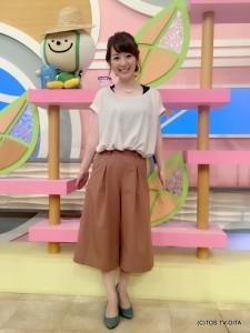 田中愛佳アナウンサー 私服