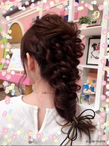 きょうのヘアスタイル♪