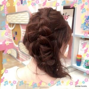 きょうのヘアスタイル☆
