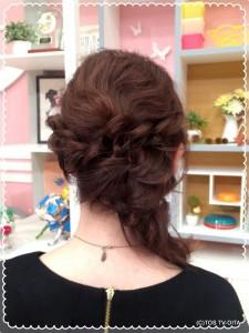 きょうのヘアースタイル♪