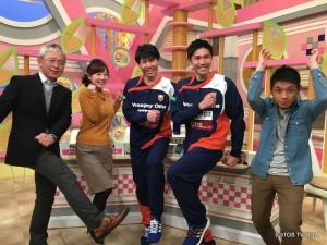きょうのゲストは、バサジィ大分の仁部屋和弘選手と藤川朋樹選手。年齢が近く仲の良いお2人のおかげで、スタジオはとても和やかでした♪ もうすぐバサジィ大分のホーム戦!!ぜひ会場に足を運んでください。 バサジィ大分vsシュライカー大阪 1月22日(日)13:05キックオフ 会場:別府ビーコンプラザ