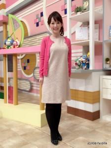 田中愛佳アナウンサー 衣装協力:Honeys(大分フォーラス3階) 【コーディネートのポイント☆】 ノースリーブのワンピースは、上品に華やぐ花柄レースがエレガントな雰囲気を高めてくれます。 鮮やかなピンクのカーディガンと合わせて、よりレディライクなコーディネートになりました。